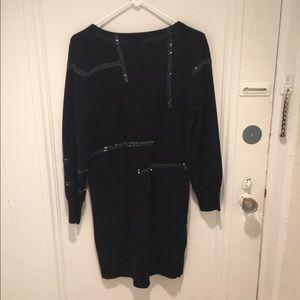 43ebac5bb3 Joie Dresses - Joie Larissa black beaded sweater dress M